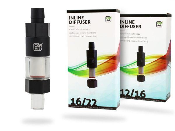 CO2art 16-22mm inline diffuser