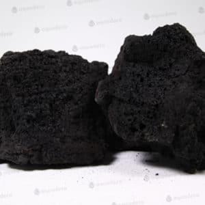 Lavasteen zwart te koop per kg